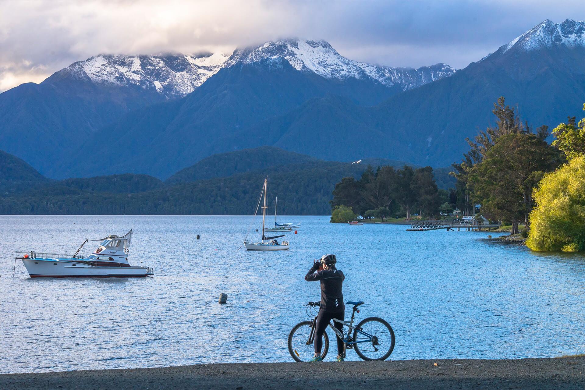 View of Lake Te Anau