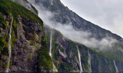 Chasing waterfalls in Milford Sound